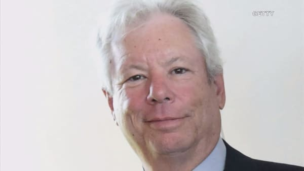 US economist Richard Thaler wins Nobel economics prize