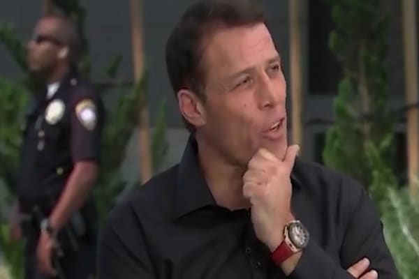 Tony Robbins: It's crucial that you 'bust tail' early in your career