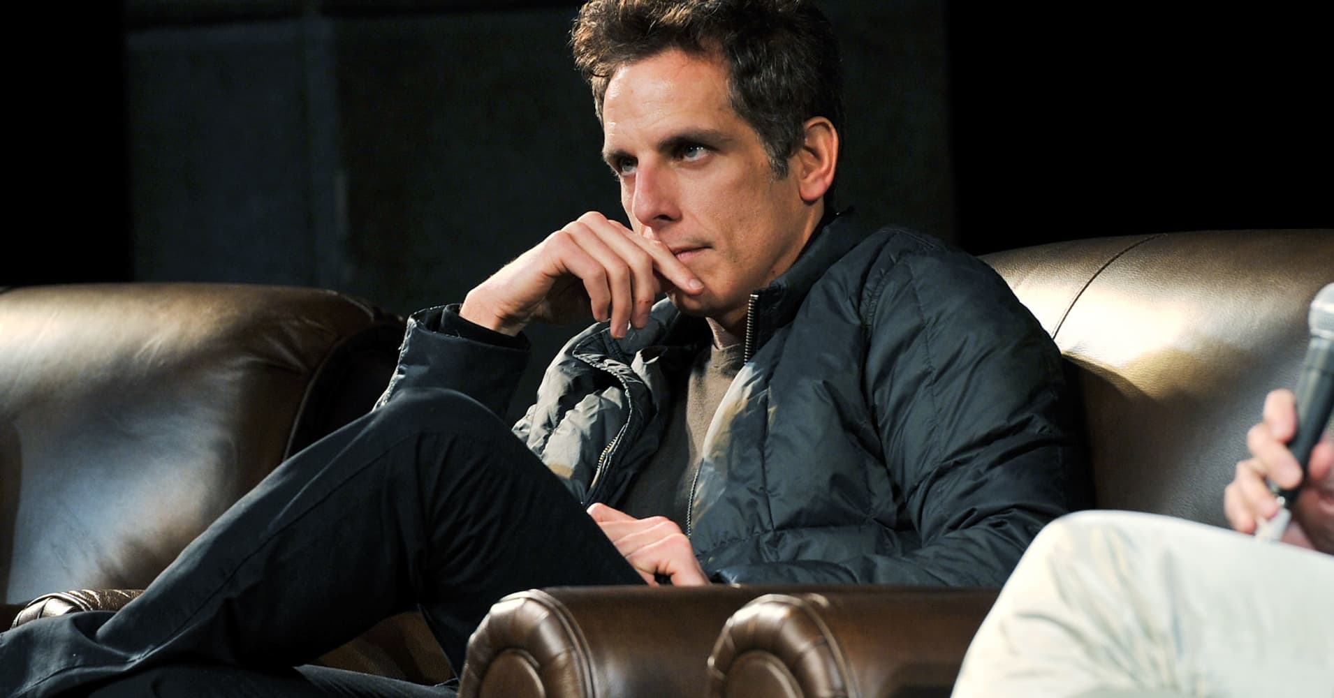 "Ben Stiller attends the ""Reality Bites"" screening and Q&A during the 2012 Sundance Film Festival held at Egyptian Theatre on January 22, 2012 in Park City, Utah."