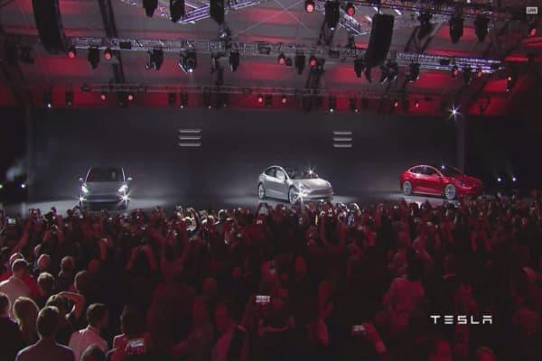 Tesla says report  is 'fundamentally wrong' as shares drop