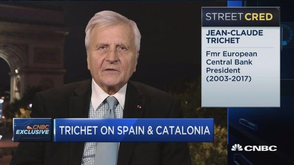 Fmr. ECB president on Catalonia: It's necessary to preserve unity