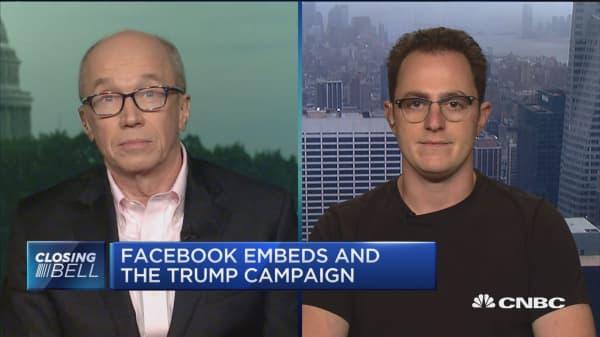 Should Facebook be treated as a media company?