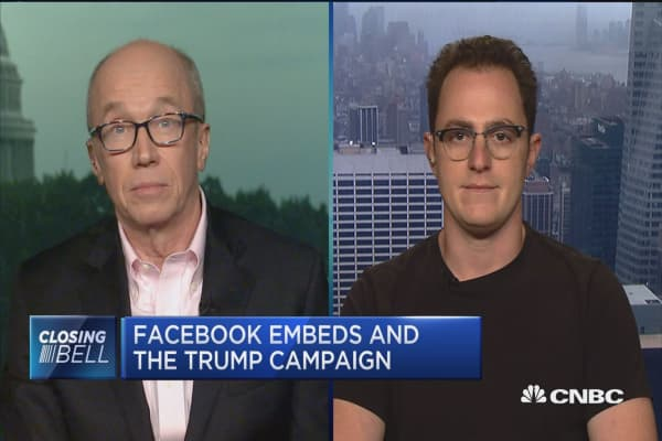 Should Facebook be treated as a media company?