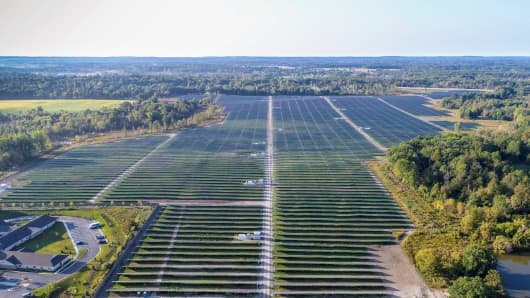 Michigan\'s \'largest solar park\' will produce enough energy to power ...