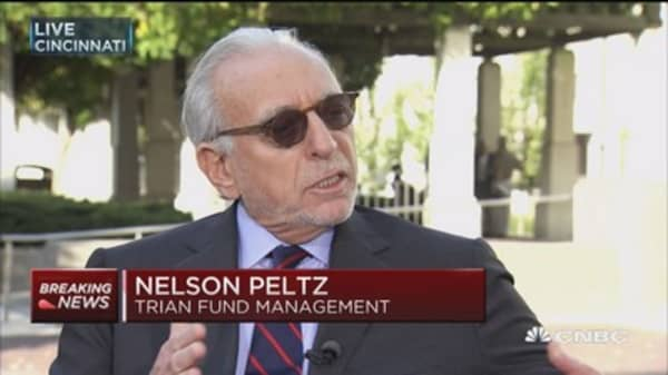 Nelson Peltz: We consider the vote a dead heat