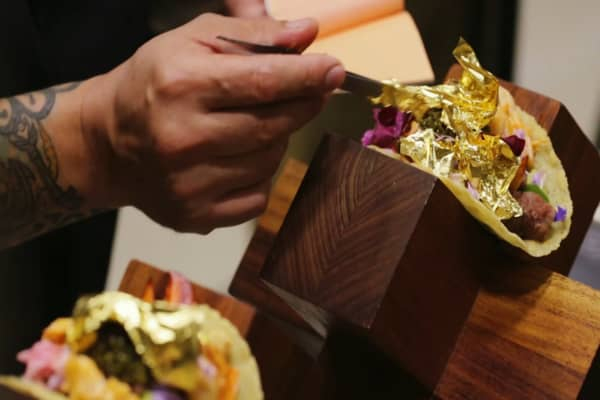 This taco costs $25,000