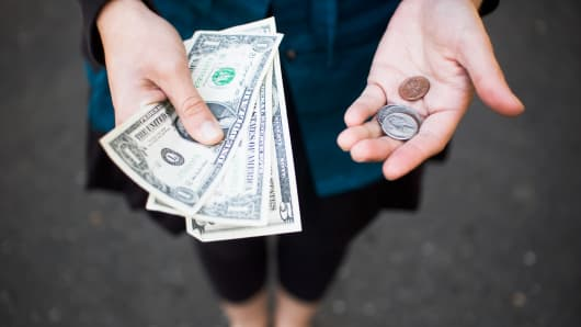 The U.S. is one of only three industrialized nations using low-denomination paper bills rather than high-denomination coins.