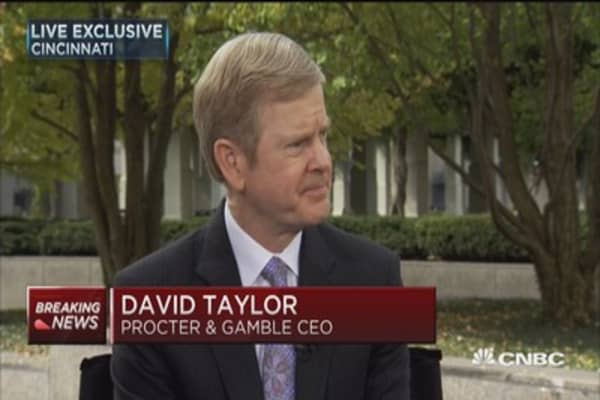P&G CEO David Taylor: Development of P&G people is core and it works