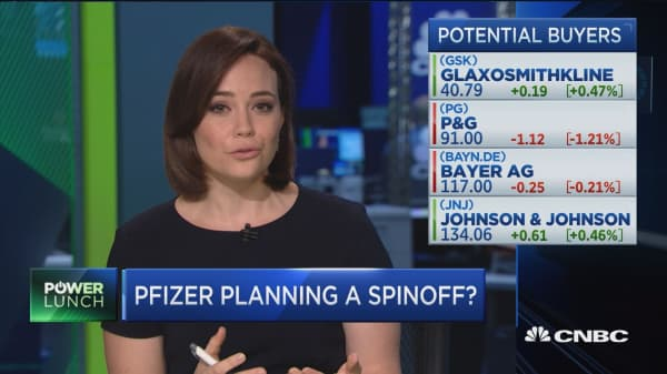Pfizer weighing sale of consumer health care business