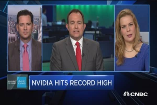 Trading Nation: Nvidia hits record high