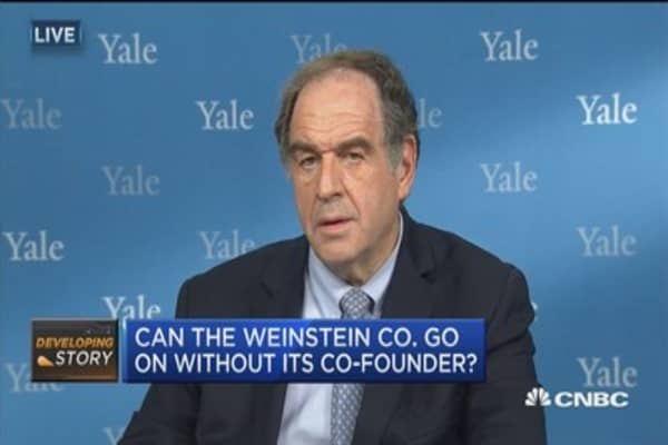 I can't see that this business is recoverable: Jeffrey Sonnenfeld on Harvey Weinstein scandal