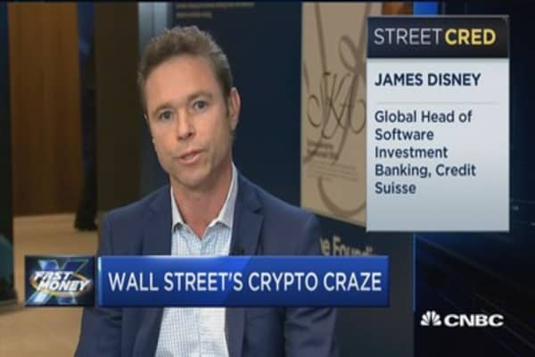 The man leading Credit Suisse's blockchain ambitions talks Wall Street's crytpo craze