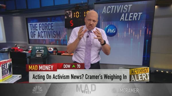 Cramer's take on 4 key Wall Street proxy fights