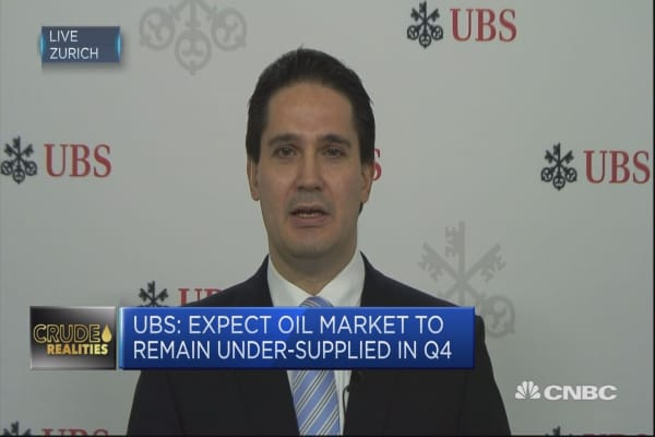 High compliance with OPEC deal to continue: UBS