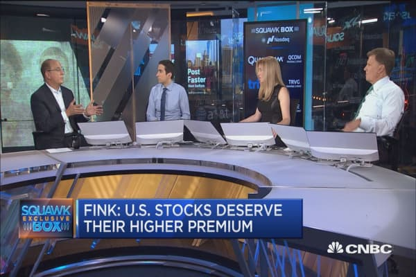 BlackRock's Larry Fink: My greatest fear is an agressive Federal Reserve