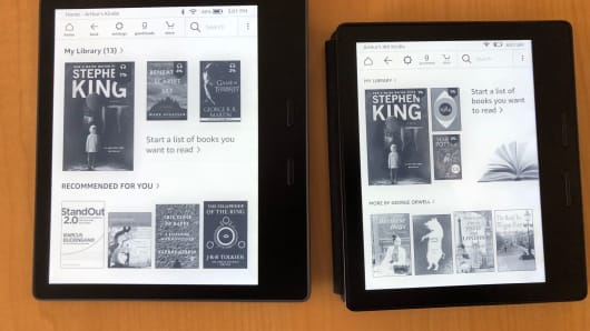 New Kindle Oasis first look