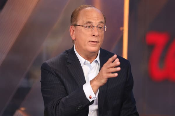 Larry Fink, chairman and CEO of BlackRock.