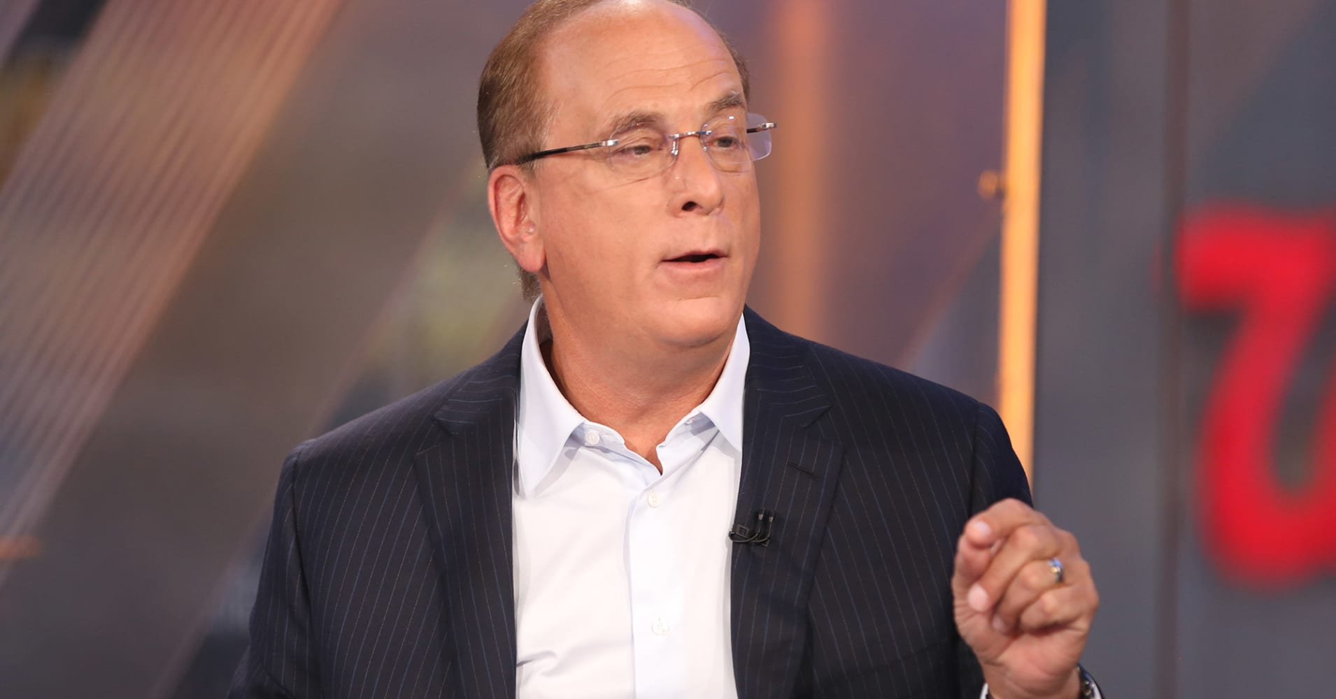 Larry Fink foresees a bullish surge on a US-China trade deal