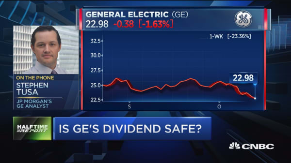 'Top priority' is not definitive answer on GE's dividend: GE analyst