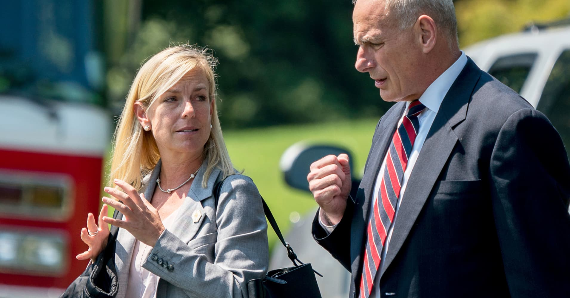 Created At 2017 10 12 0924 Clap Sensitive Relay With On Off Feature President Donald Trump Is Expected To Nominate Kirstjen Nielsen Lead The Department Of Homeland Security According Multiple Reports Wednesday