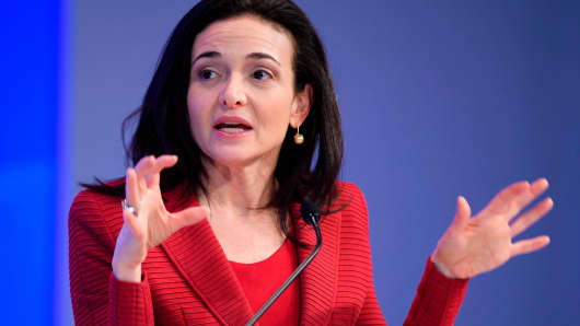Sheryl Sandberg, Chief Working Officer of Fb