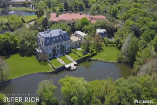 This $27.5 million Dallas mansion looks like it belongs in the French countryside