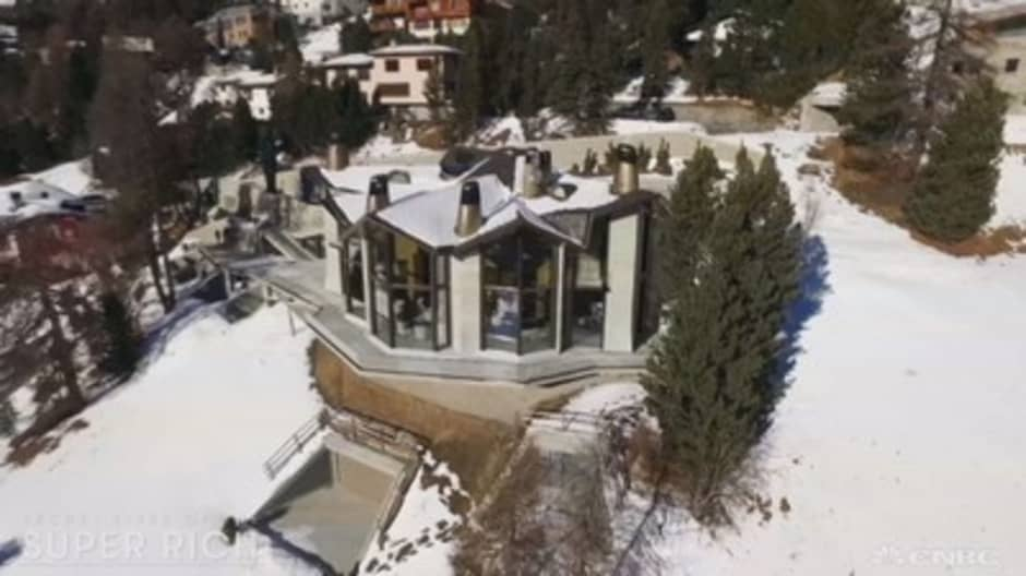 Step inside Switzerland's most expensive estate