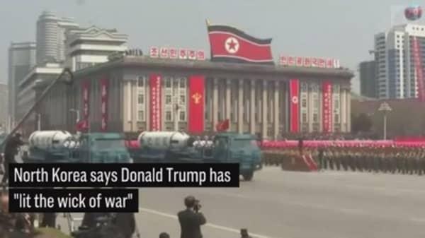 TASS: North Korea says Trump has 'lit the wick of war'