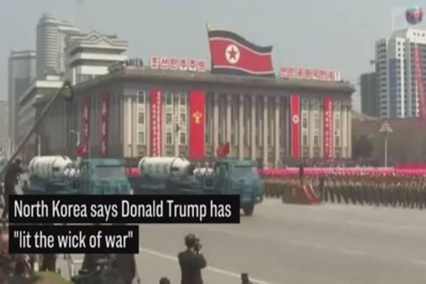 TASS: North Korea says Trump has 'lit the wick of war'