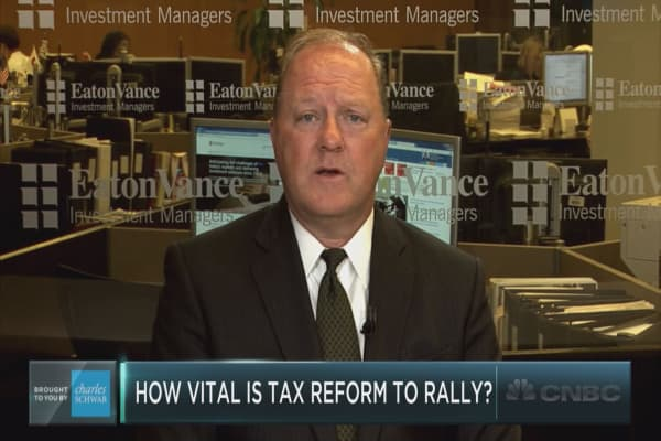 Eaton Vance portfolio manager on tax reform and the market