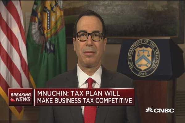 Treasury's Steve Mnuchin: We're sensitive to needs of high tax states