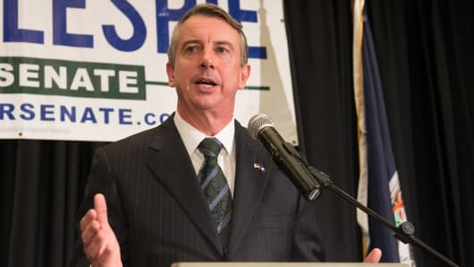 Ed Gillespie, Republican candidate for the U.S. Senate.
