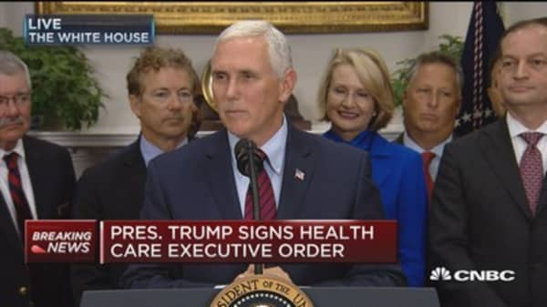 Vice President Pence: Everyday Obamacare survives is another day Americans struggle