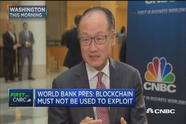 World Bank president on bitcoin: Blockchain is something that everyone is excited about