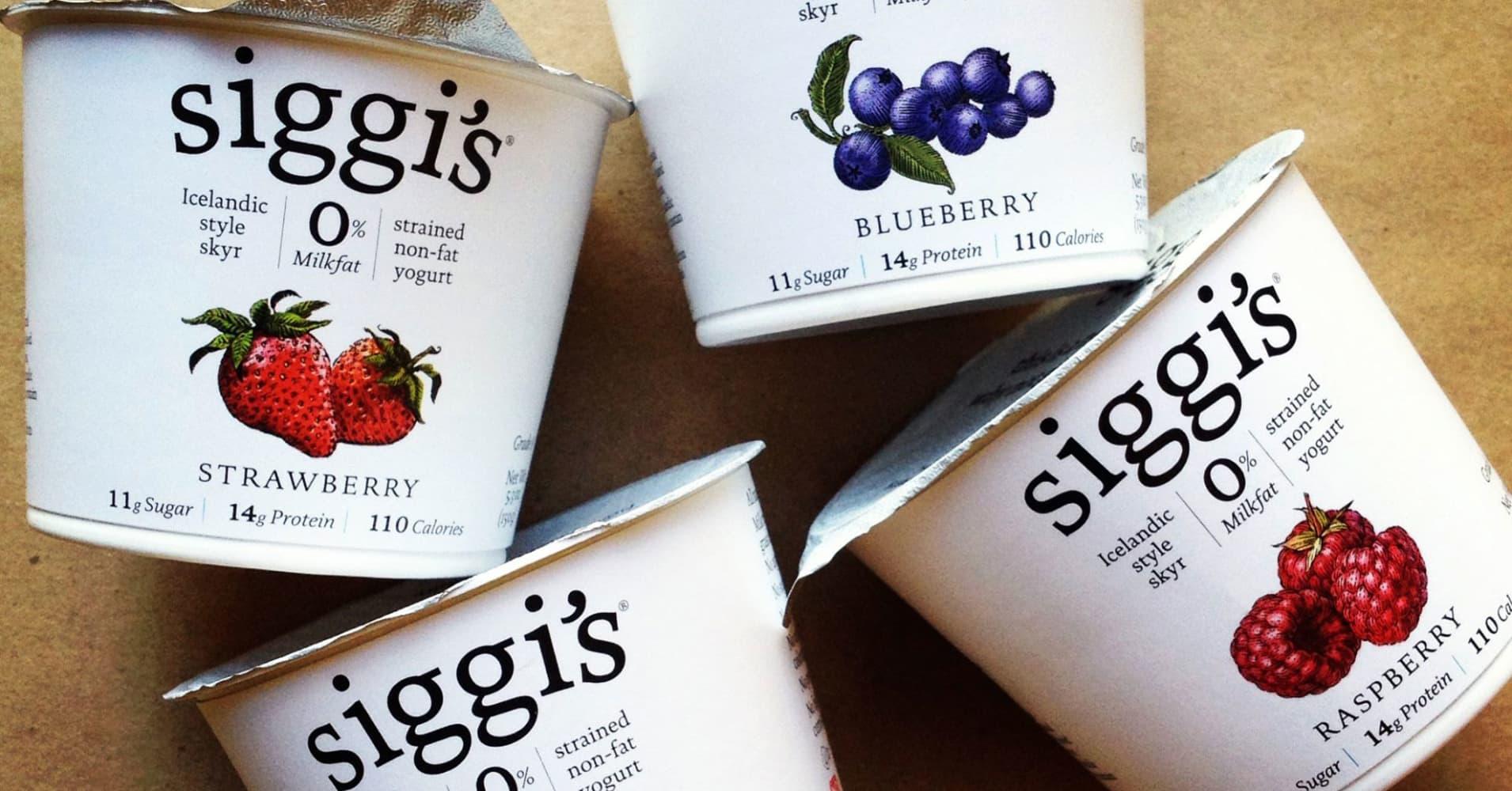 Owner of Siggi's Icelandic yogurt taps bank for sale