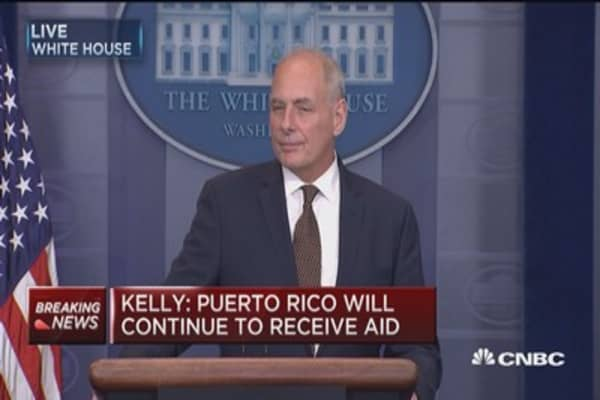 Gen. Kelly: Right now, North Korean threat 'manageable'