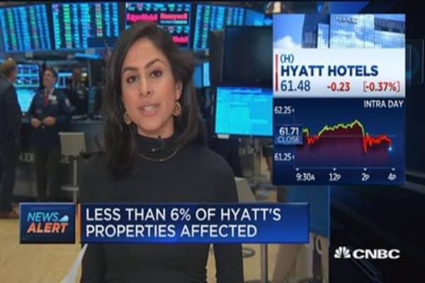 Hyatt: Credit card data breach occurred between March 18 & July 2