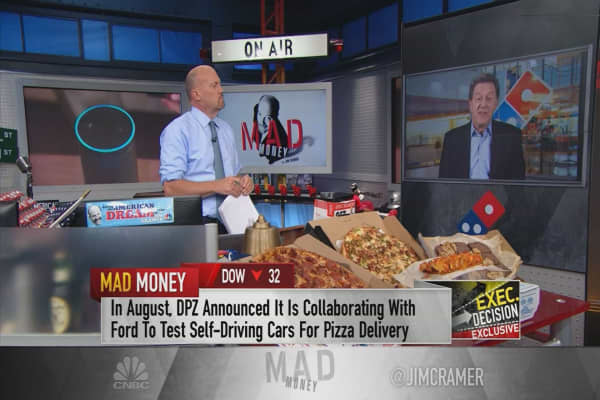 Domino's Pizza CEO on future of delivery