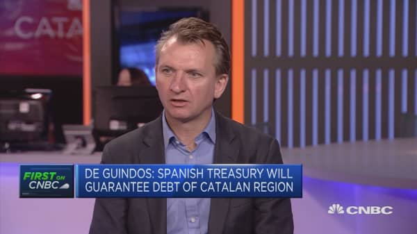Catalan crisis not a big focus on