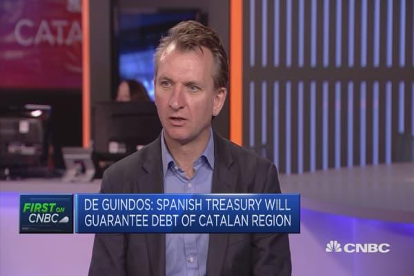 Catalan crisis not a big focus on