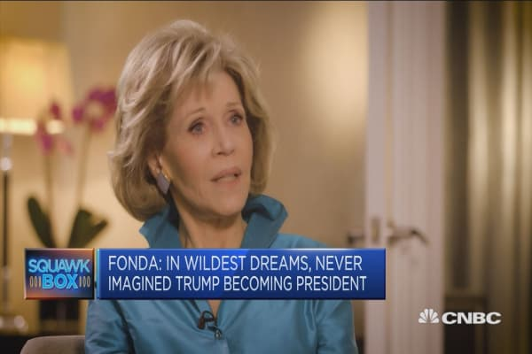 Trump's election 'felt like I had been hit by a truck': Jane Fonda