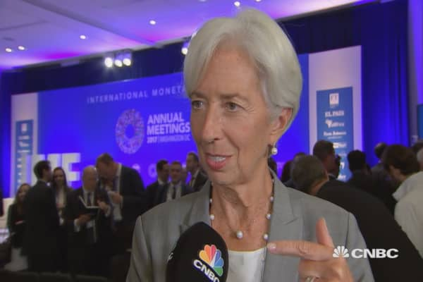 IMF director Lagarde expects IMF will play a role in regulating the fintech industry