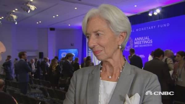 IMF's Lagarde won't rule out the IMF potentially developing its own cryptocurrency