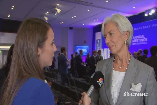 IMF's Lagarde on how fintech can help developing countries