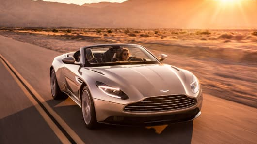 Aston Martin Sold Over 5000 Vehicles Last Year