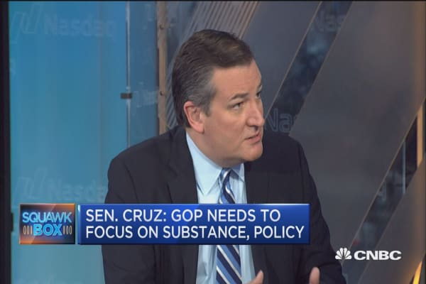Sen. Ted Cruz: Trump has taken positive step to solve Obamacare problems