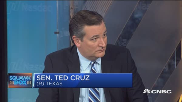 Sen. Ted Cruz:  President Trump did the 'right thing' to 'decertify' Iran deal