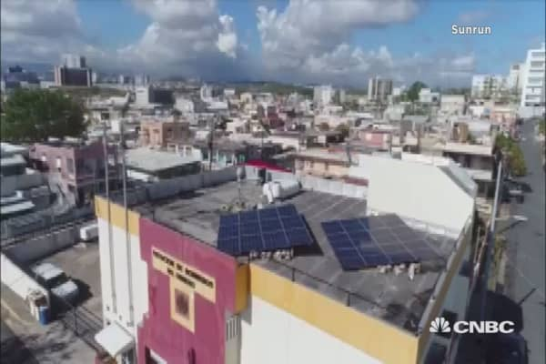A fire department in Puerto Rico is now powered by solar
