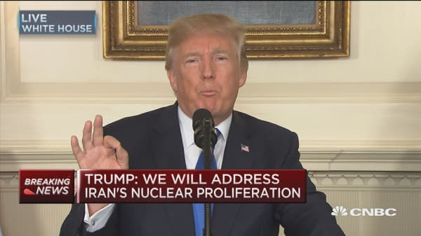 Trump: We will place new sanctions on Iran