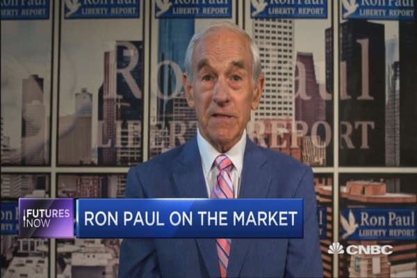 Ron Paul makes his case for a market correction